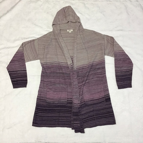 Style & Co Sweaters - Style & Co. Women's large Open Cardigan Hooded